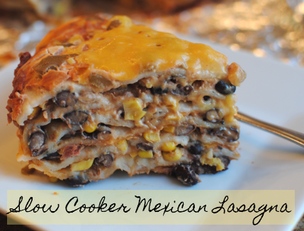 Slow Cooker Mexican Lasagna 4 Slow Cooker Mexican Lasagna