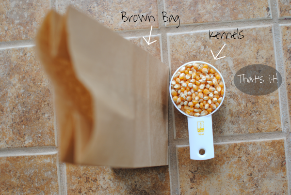 Brown Bag Popcorn 2 Ridiculously Easy Brown Bag Popcorn