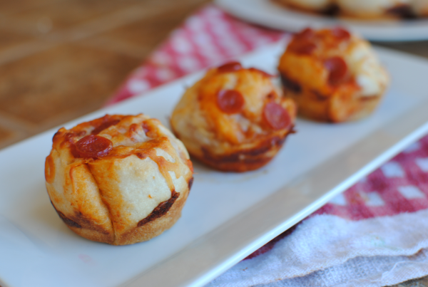 Pizza Cupcakes 1 Stuffed Pizza Cupcakes
