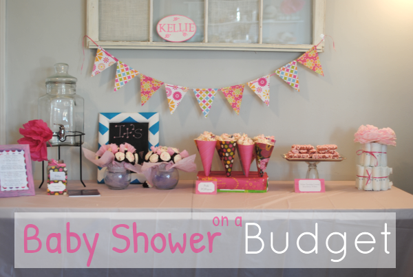 baby shower ideas on a budget