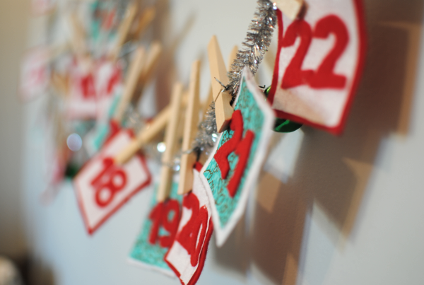 Christmas Countdown DIY 3 DIY Christmas Countdown