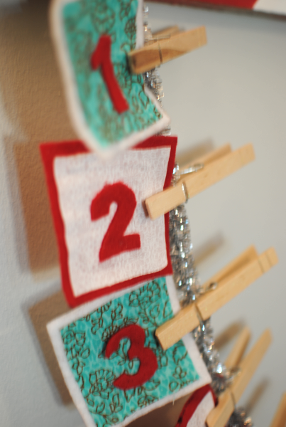 Christmas Countdown DIY 4 DIY Christmas Countdown