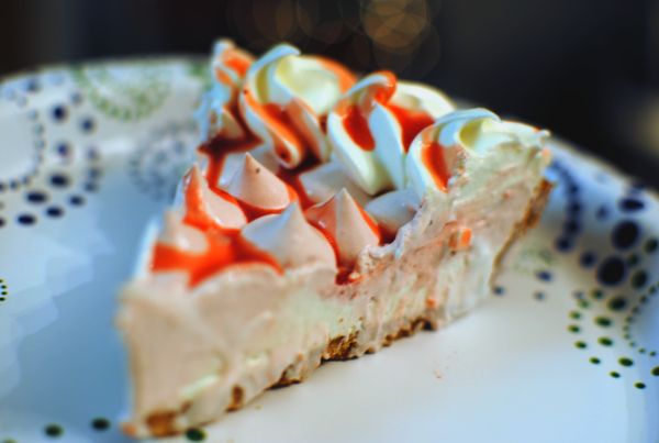 Strawberry Cream Pie 1 No Time To Make Dessert? {Giveaway}