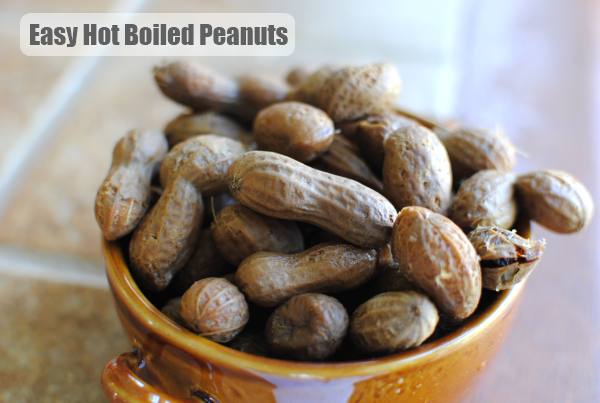 Hot Boiled Peanuts 2 Hot Boiled Peanuts: Its a Southern Thang