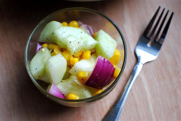 Cucumber Salad 2 Summer Cucumber Salad