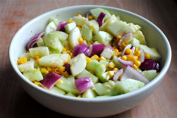 Cucumber Salad 3 Summer Cucumber Salad