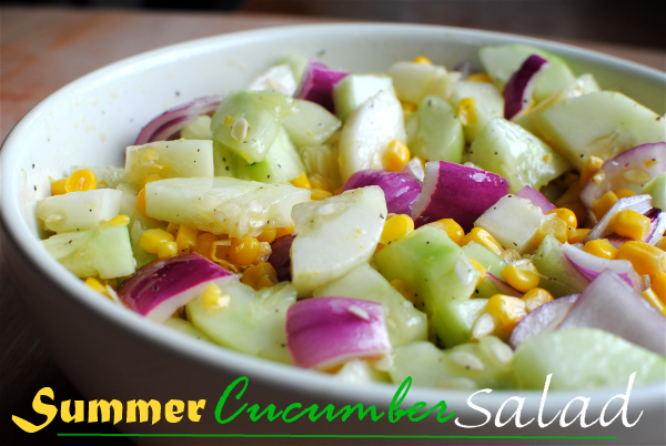 Cucumber Salad 4 Summer Cucumber Salad