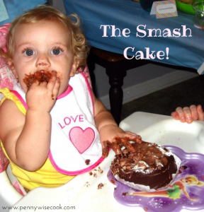 smash cake 288x300 Making The First Birthday A Smash!