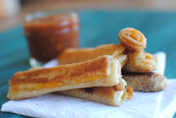 Grilled Cheese Rollups 5 Ideas for the Lunchbox: Grilled Cheese Rollups