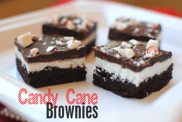 Candy Cane Brownies 1 Candy Cane Brownies