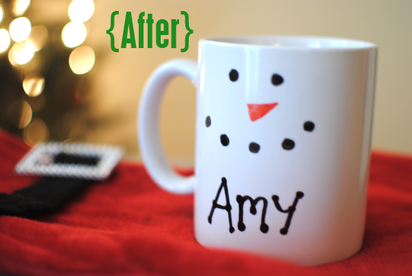 DIY Mugs After DIY Personalized Gift Mugs