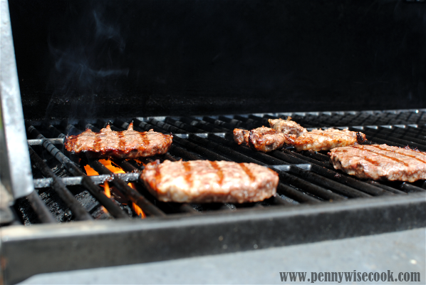 Burgers On The Grill Fathers Day Gift Idea: Omaha Steaks!