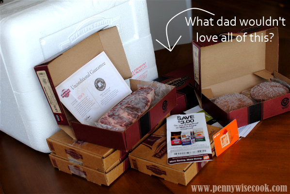 Omaha Steaks Package Fathers Day Gift Idea: Omaha Steaks!