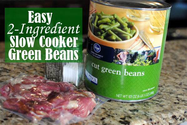 Easy recipe for can green beans