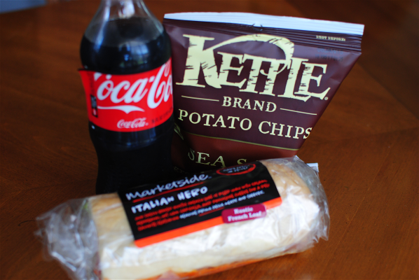 Chips Coke Sub Effortless Back to School Meals