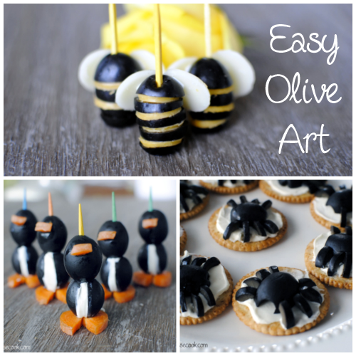 Olive Art Fun and Easy Crafts With Olives!