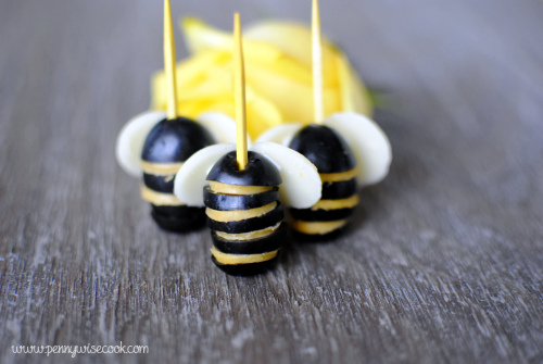 Olive Bumble Bees 1 Fun and Easy Crafts With Olives!