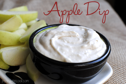 Apple Dip 1 Apple Dip
