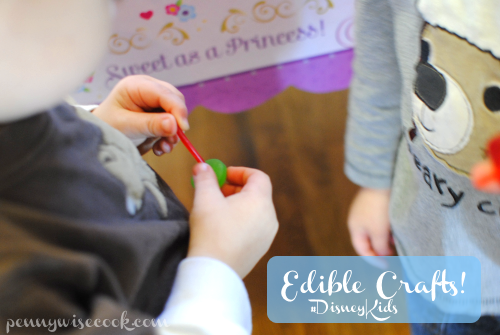 Edible Crafts #DisneyKids Preschool Playdate!