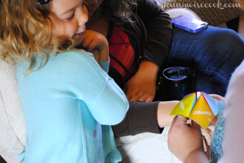 Fortune Teller Craft #DisneyKids Preschool Playdate!