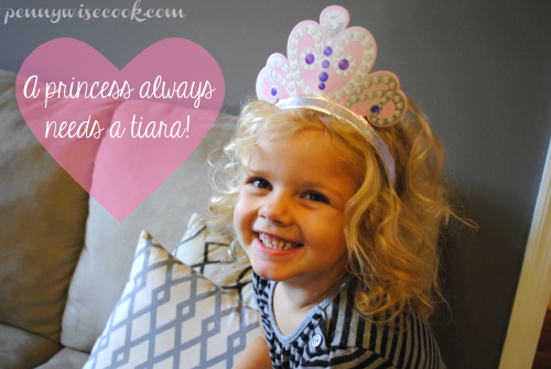 Princess in Tiara #DisneyKids Preschool Playdate!