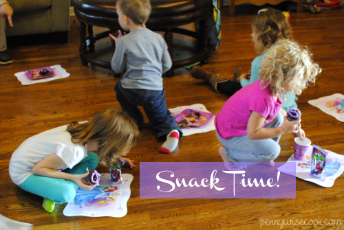 Snacktime #DisneyKids Preschool Playdate!