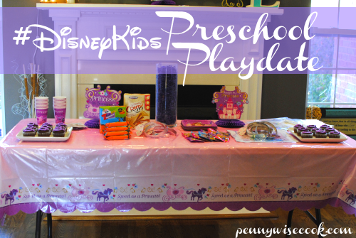 Table #DisneyKids Preschool Playdate!