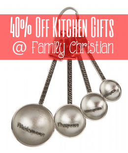 Measuring Spoons1 40% Off Kitchen Gifts at Family Christian!