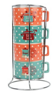Stackable Mugs 40% Off Kitchen Gifts at Family Christian!