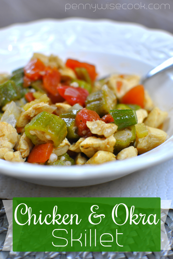 Chicken and Okra Skillet 1 685x1024 Chicken and Okra Skillet
