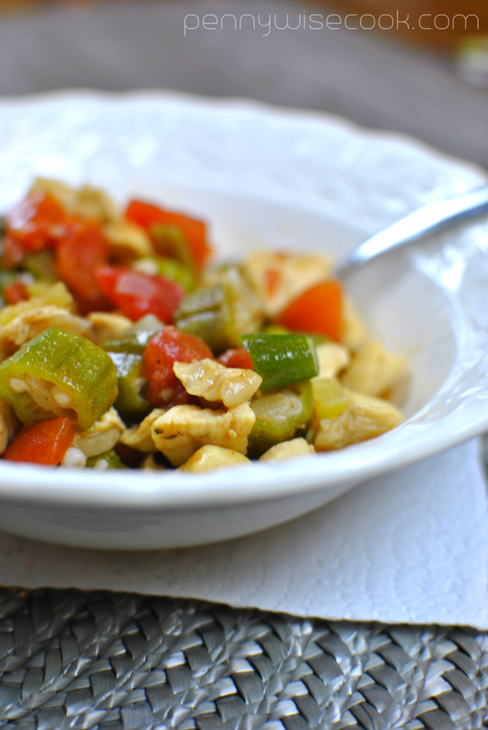 Chicken and Okra Skillet 3 685x1024 Chicken and Okra Skillet