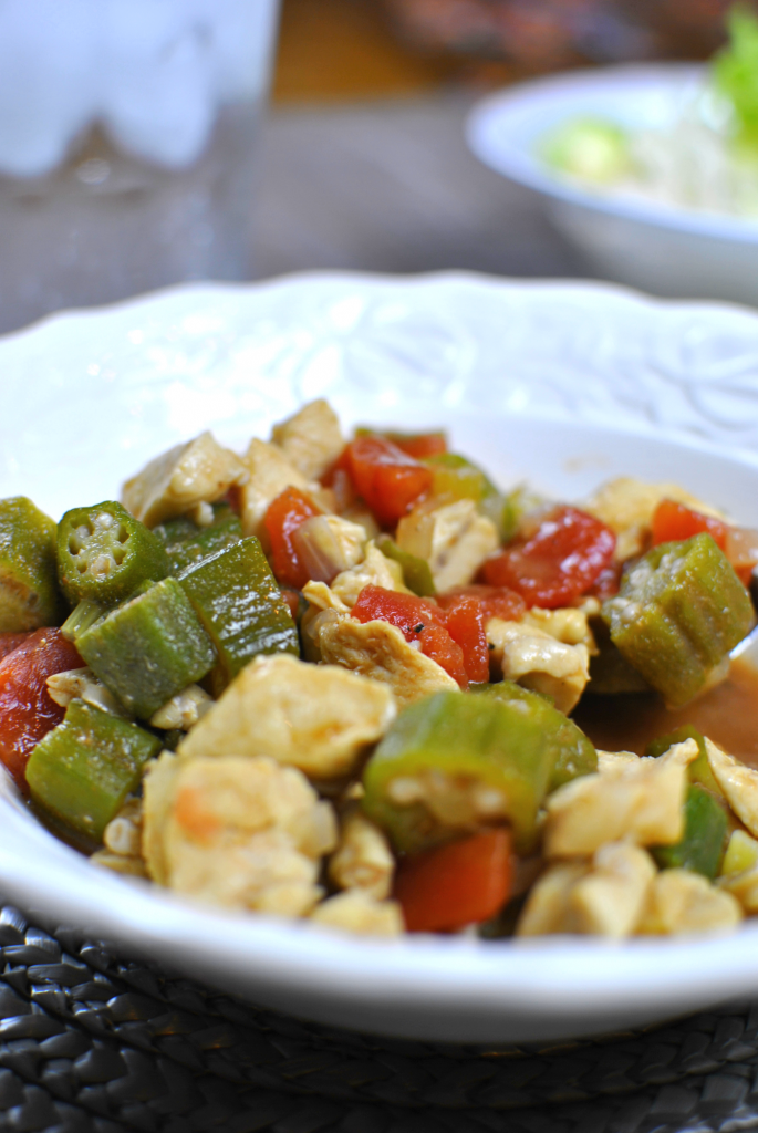 Chicken and Okra Skillet 4 685x1024 Chicken and Okra Skillet