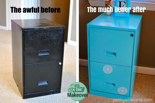 Filing2 Filing Cabinet Makeover