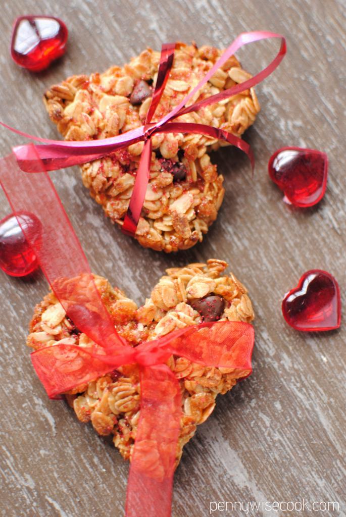 Granola Cookies 10 685x1024 Valentines Day Granola Cookies