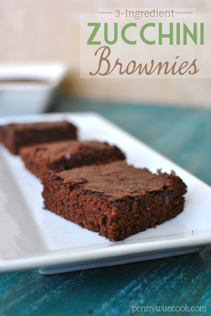 Zucchini Brownies 21 685x1024 Zucchini Brownies {3 Ingredients}