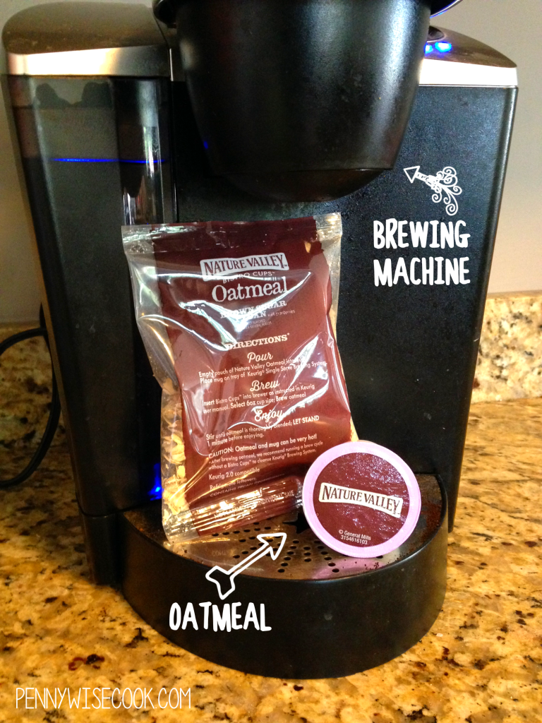 Nature Valley Oatmeal 1 768x1024 Oatmeal in Your Coffeemaker?! + $10 Giveaway!