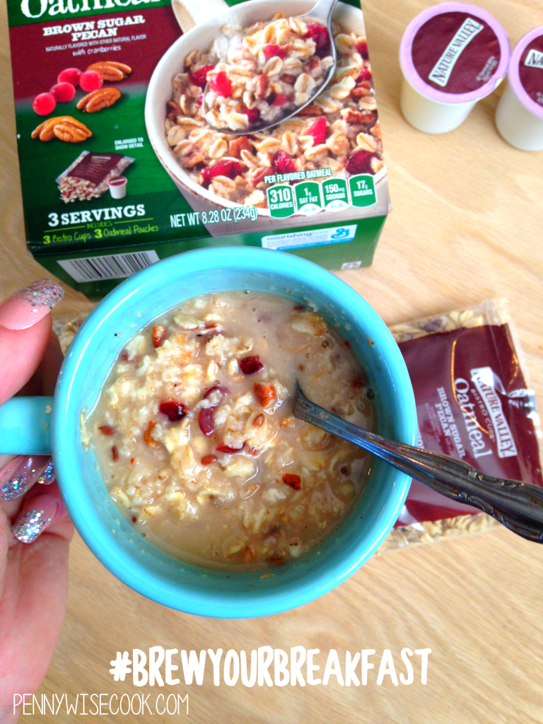 Nature Valley Oatmeal 4 768x1024 Oatmeal in Your Coffeemaker?! + $10 Giveaway!
