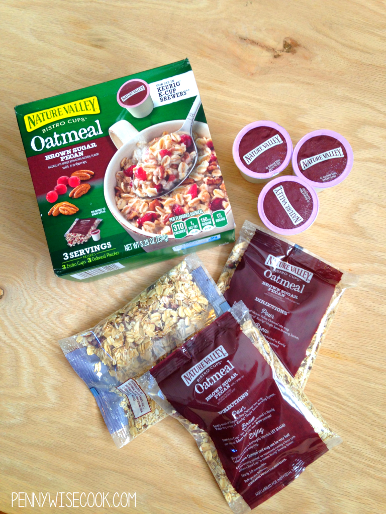 Nature Valley Oatmeal 768x1024 Oatmeal in Your Coffeemaker?! + $10 Giveaway!