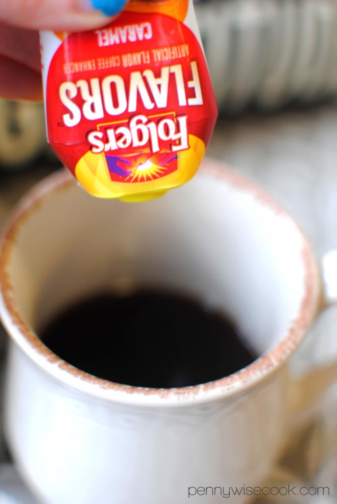 Folgers 1 686x1024 Homemade Caramel Latte  Folgers Flavors