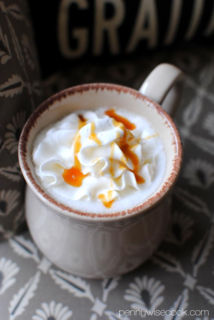 Folgers 5 686x1024 Homemade Caramel Latte  Folgers Flavors