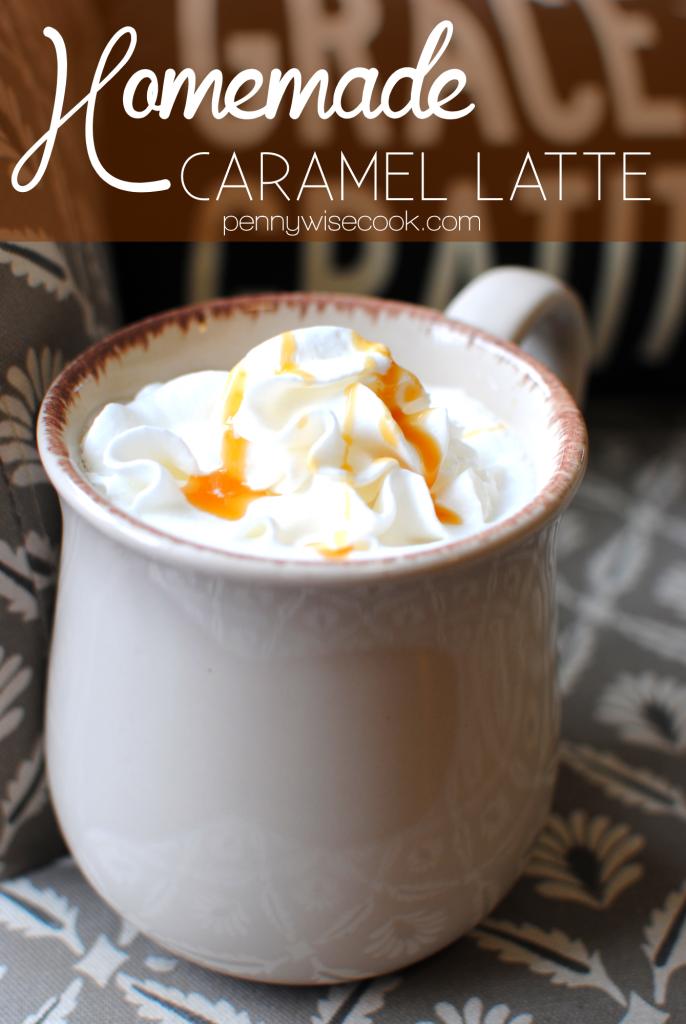 Folgers 6 686x1024 Homemade Caramel Latte  Folgers Flavors